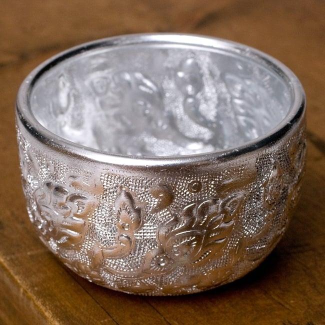 1 Acorn cap charms antique silver tone L216