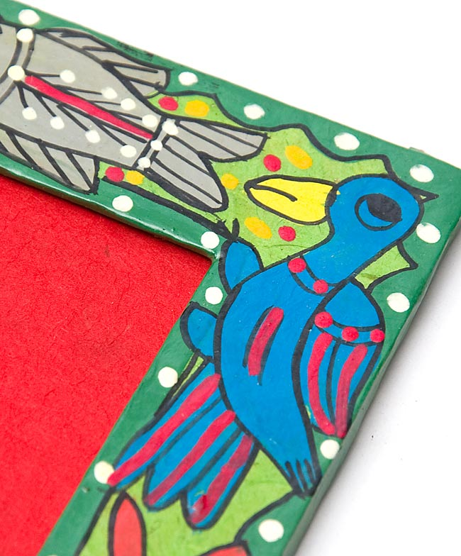 默图伯尼-鹿、 鸟和鱼-相框画相框,照片帧,画的默图伯尼