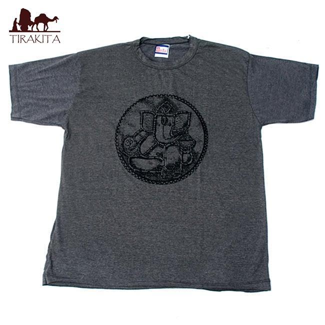 印度小卹�*���9�b��_民族石甘尼萨 t 衬衫, t 恤, 神的 t 恤,印度,印度教 ganesh,希瑟织物
