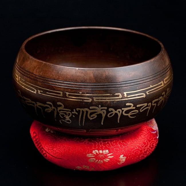 【一点物】チベタンシンギングボウル【音階 A#】 654g(スティック付属) / シンギングボール ネパール 楽器 送料無料 レビューでタイカレープレゼント あす楽