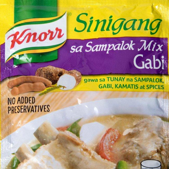メール便OK あす楽 フィリピン タマリンドの酸っぱさが刺激的なシニガンスープの素 フィリピン料理 シニガンサンパロック ガビの素 Sinigang Sa Sampalok Gabi タマリンド シニガンスープ クノール BBQ 食品 5%OFF エスニック食材 アジアン食品 Knorr エスニック 限定価格セール 料理の素 アジアン