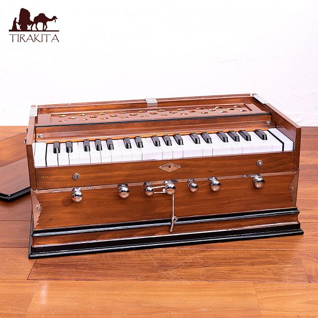 【Kartar Music House社製】ハルモニウム【ちょっと訳あり】 / Harmonium ピアノ インド 楽器 送料無料 レビューでタイカレープレゼント あす楽
