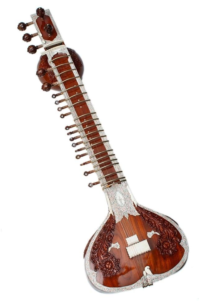 一流メーカー製シタールセット(ダブルトゥンバ)(Kanailal & Sons) / ダブルトゥンバシタール Sitar インド 楽器 送料無料 レビューでタイカレープレゼント あす楽