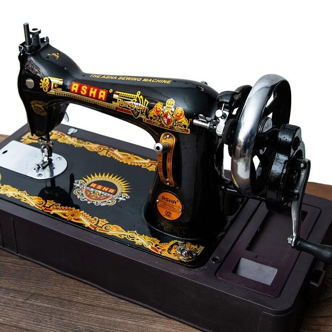 インドのレトロミシン ASHA / アンティーク 裁縫 送料無料 レビューでタイカレープレゼント あす楽