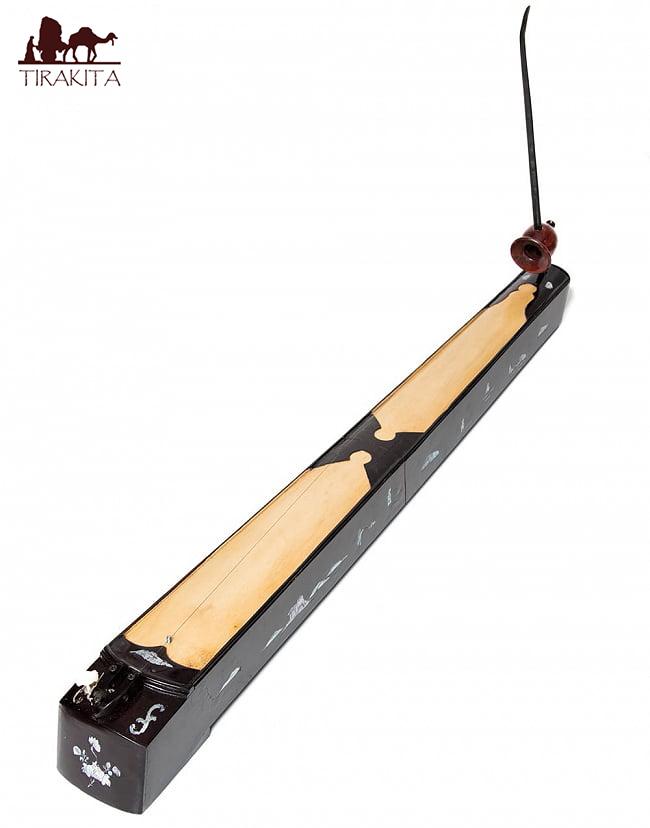 【送料無料】 ベトナムの一弦琴 ダン バウ 通常品(大) / 民族楽器 箏 dan bau 弦楽器 インド楽器 エスニック楽器 ヒーリング楽器
