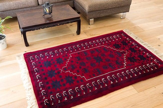 ザンスカール遊牧民の手織りのアンティック絨毯【たてxよこ 約100cm x 170cm】 / アンティーク ラグ マット 送料無料 レビューでタイカレープレゼント あす楽