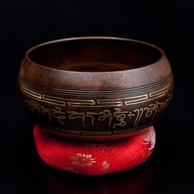 【一点物】チベタンシンギングボウル【音階 B】 668g(スティック付属) / シンギングボール ネパール 楽器 送料無料 レビューでタイカレープレゼント あす楽