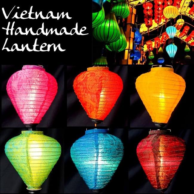 Vietnamese traditional ホイアン lantern (lantern) wooden bowl type small /  orchid turn event lamp shade festival lantern interior horse mackerel Ann