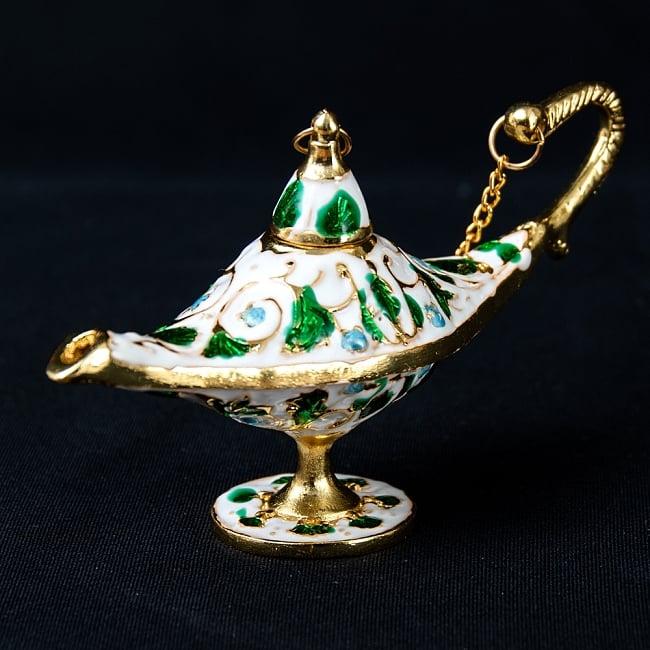 (訳ありセール 格安) ランプ 探していた あのランプ 絵本でみたあのランプ アラジンの魔法のランプ 12cm×6.5cm アラジンランプ 千夜一夜物語 激安セール 雑貨 インド アラビアンナイト 製品 アンティック 金属 アジアン エスニック