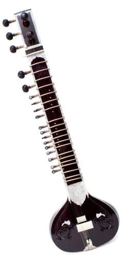 練習用シタールセット(グラスファイバーケース) / Sitar インド 楽器 弦楽器 送料無料 レビューでタイカレープレゼント あす楽