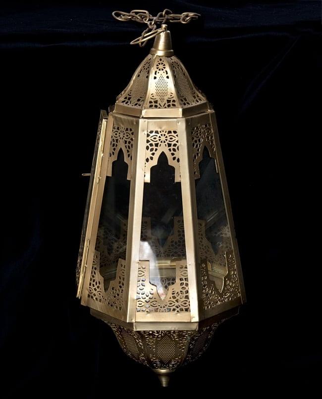 Style suspension type LED candle lantern / LED lantern candle stands candle  holder LED candlelight horse mackerel Ann interior ethnic in Morocco