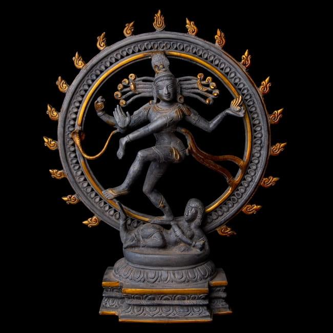 送料無料 あす楽 長く使用するほどに風合いの良くなるブラス製 ヒンドゥー教で一番重要な神様 シヴァ神 ブラス製 アンティーク調ナタラジ お買得 ダンシング シヴァ オンラインショッピング 神像 エスニック 仏像 アジア インド 雑貨 46cm 神様 置物
