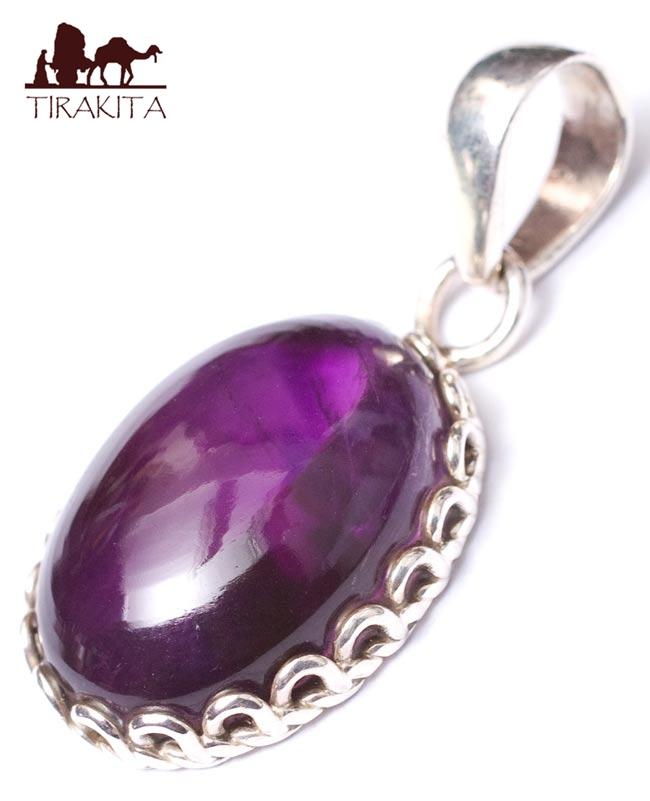 Tirakita rakuten global market amethyst pendants ethnic asian amethyst pendants ethnic asian india accessories anklet piercing ring bindis string stone stone necklace nepal mozeypictures Images