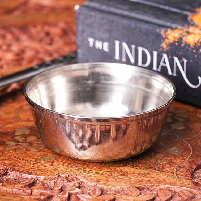 ラッピング無料 ずらり並べてミールスを作れる インドの定番カレー小皿 重ねられるカレー小皿 ポリヤルカトリ 約6.9cm×約2.7cm 約70ml カトゥリ エスニック食材 チャイ ターリー チャイカップ インド ギフト プレゼント ご褒美 カレー皿 アジアン食品