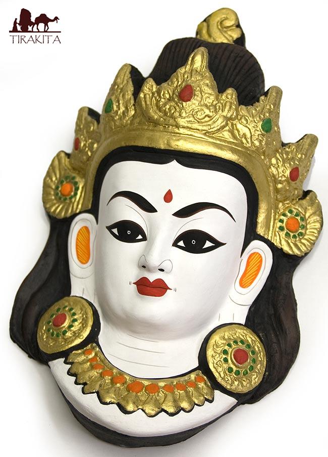 特大カラフル神様 35cm インド 無料 置物 レジンキャスト 贈与 アジア エスニック 陶器 テラコッタ 雑貨