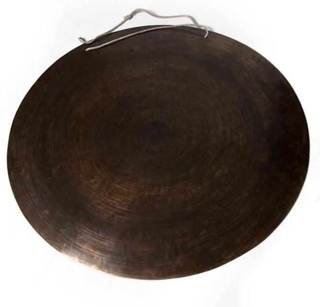 54cm 送料無料 ブラスの銅鑼 チベット / ドラ 4Kg あす楽 ネパール 打楽器