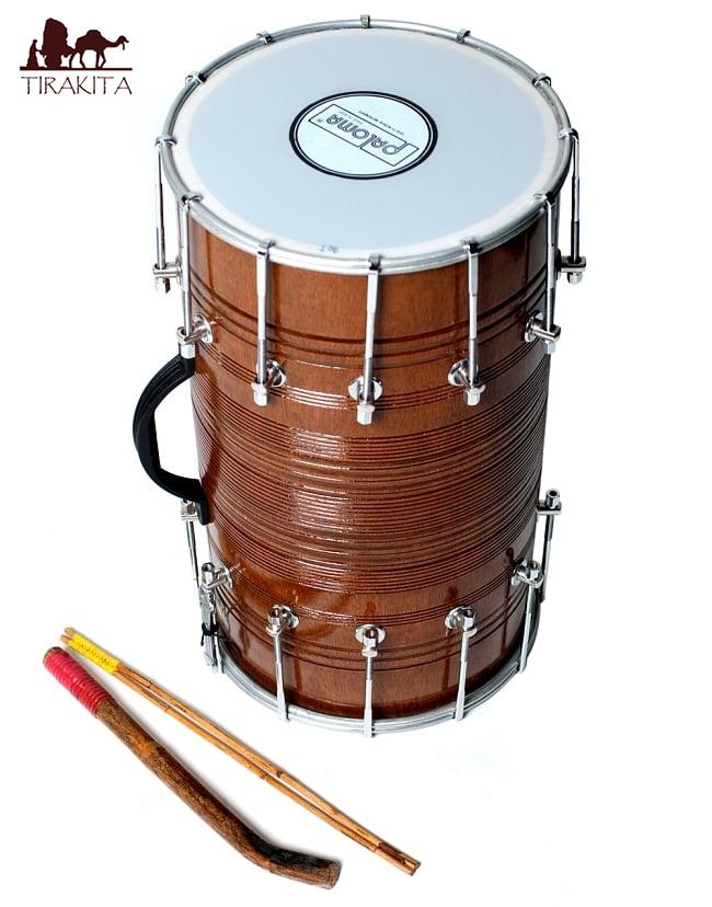 ドール DHOL / インド 打楽器 民族楽器 送料無料 レビューでタイカレープレゼント あす楽