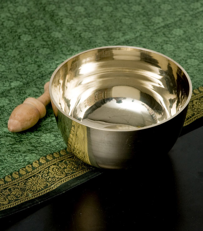 高音質シンプルシンギングボウル 14.6cm / シンギングボール Singing Bowl 送料無料 レビューでタイカレープレゼント あす楽