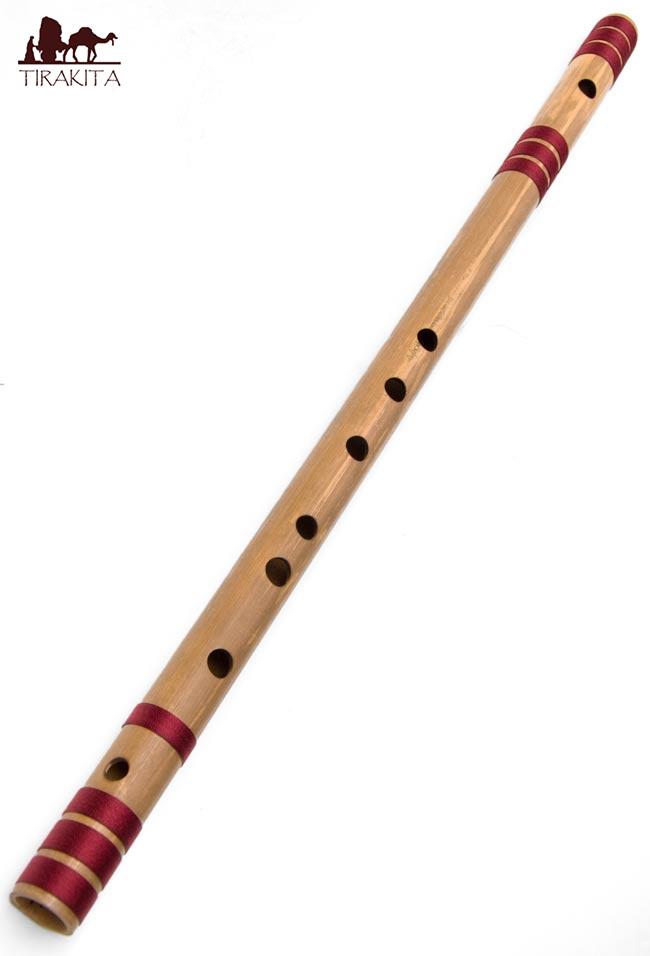【送料無料】 高品質コンサート用バンスリ(BASS A管) / Bansli インド 管楽器 民族楽器 インド楽器 エスニック楽器 ヒーリング楽器