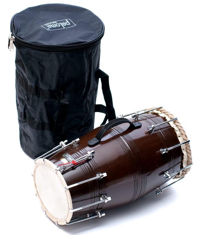 店内全品ポイント5倍! ドーラク(Dholak) インドの両面太鼓 ボルト締め高級タイプ / 打楽器 ドラム 民族楽器 送料無料 レビューでタイカレープレゼント あす楽