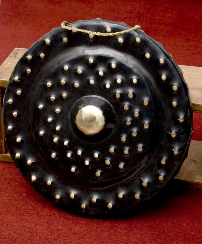 ベトナムのゴング(銅鑼)35cm / ドラ 鐘 シンバル 送料無料 レビューでタイカレープレゼント あす楽