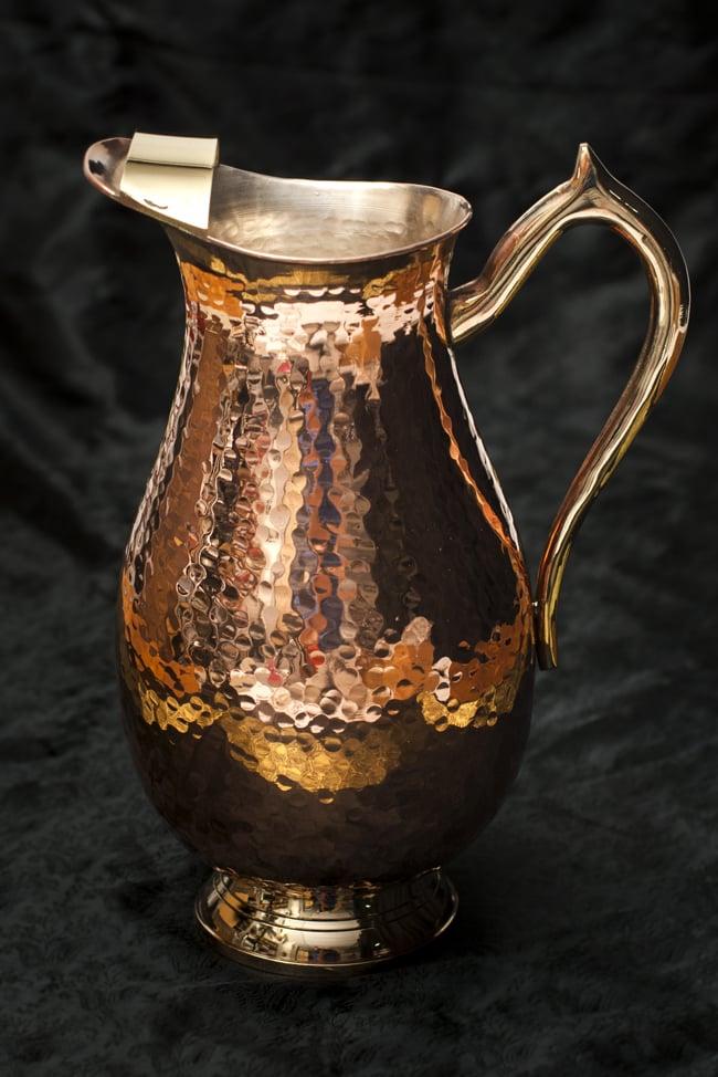 槌目付き 銅装飾の水差し deluxe / 食器 水さし 送料無料 レビューでタイカレープレゼント あす楽
