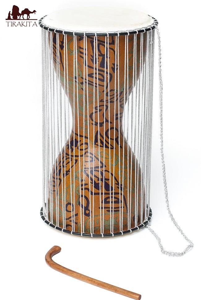 トーキングドラム / アフリカ 打楽器 民族楽器 パーカッション 送料無料 レビューでタイカレープレゼント あす楽