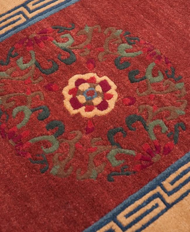 【楽天市場】【高密度】手織りのチベット絨毯【約60cm×約90cm】 / ラグ マット 送料無料 あす楽:インド雑貨