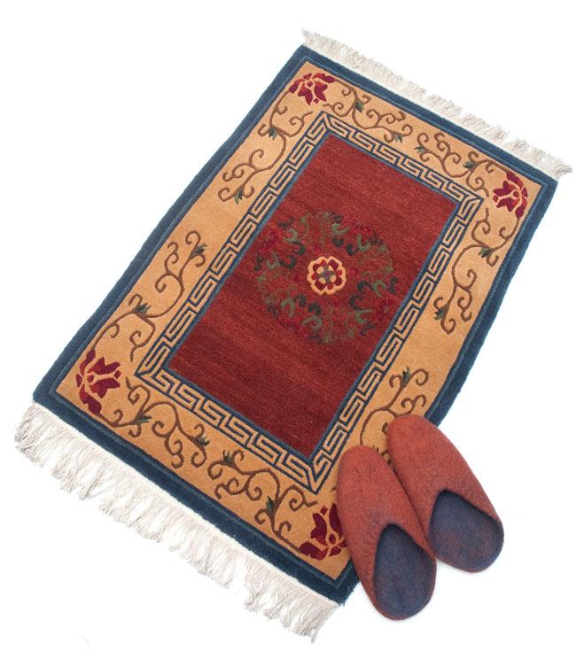 Tirakita Handwoven Tibet Carpet Rug Nepal Doorstep