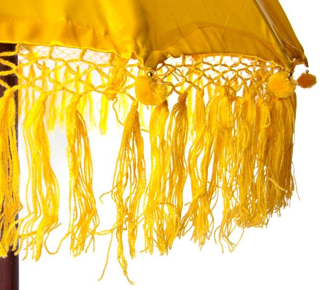 巴厘的伞(黄色) - 80cm   祭祀旗子族群印度亚洲杂货