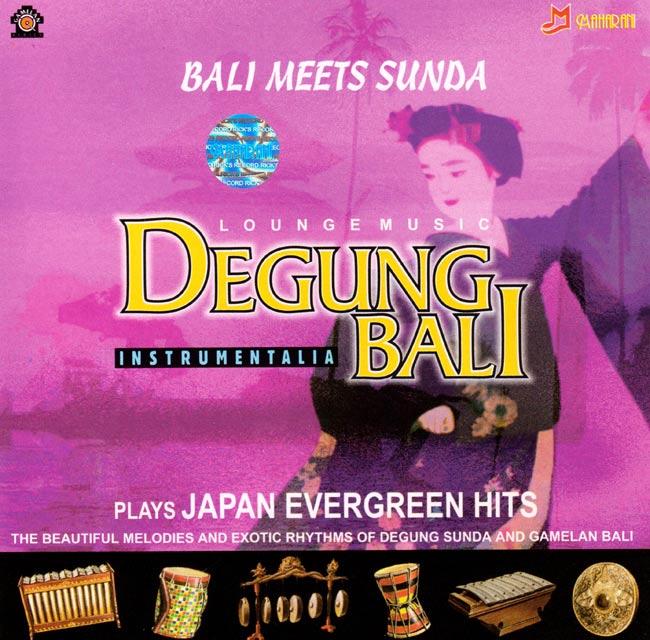 BALI MEETS SUNDA DEGUNG JAPAN EVERGREEN HITS / デグン CD スンダニーズ バリ インドネシア 民族音楽 インド音楽