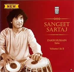 Sangeet Sartaj - Zakir Hussain Vol.1 and 2   cd zakiru·fuseintaburaindo古典CD印度音乐民族音乐