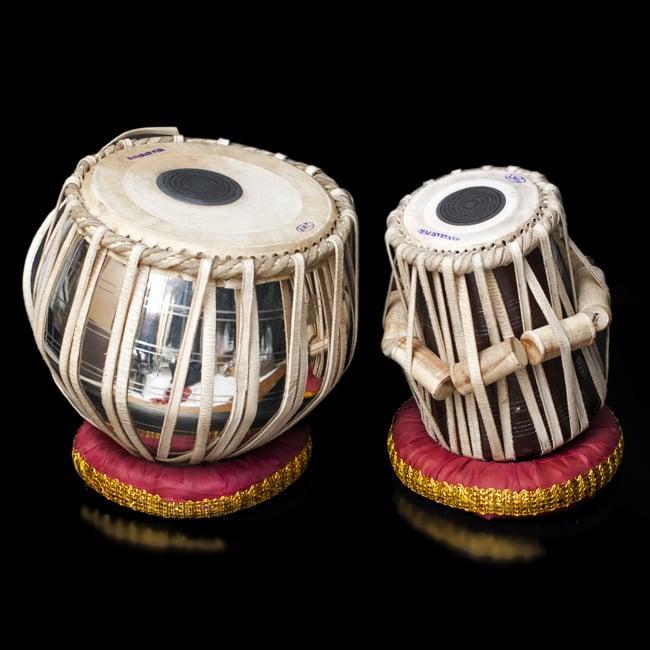 送料無料 あす楽 打楽器 教則 インド 民族楽器 最もスタンダードな素材 インドの打楽器 【送料無料】 タブラスペシャル(鉄 重量級) / CD DVD 民族楽器 インド楽器 エスニック楽器 ヒーリング楽器