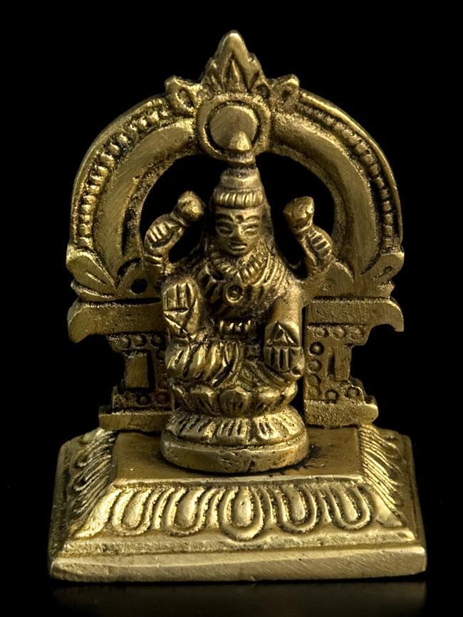 ラクシュミ 高さ 5.8cm アイテム勢ぞろい 正規取扱店 神様像 インド 置物 雑貨 エスニック アジア