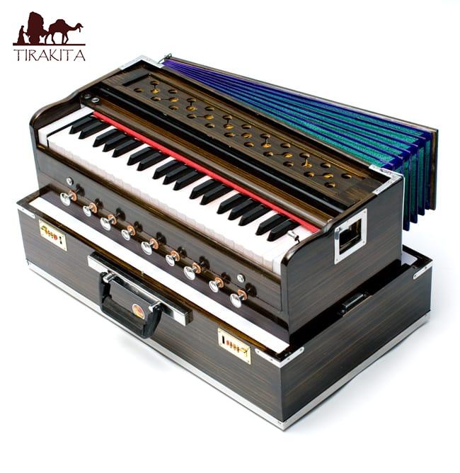 【Kartar Music House社製】ポップアップハルモニウム / Harmonium ピアノ インド 楽器 送料無料 レビューでタイカレープレゼント あす楽