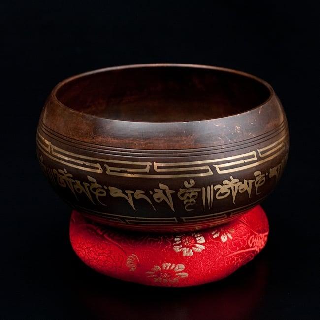 【一点物】チベタンシンギングボウル【音階 A#】 632g(スティック付属) / シンギングボール ネパール 楽器 送料無料 レビューでタイカレープレゼント あす楽
