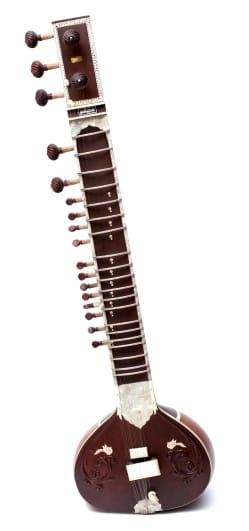 【PALOMA社製】高級シタールセット(グラスファイバーケース)ヴィラヤットカーンスタイル / Sitar インド 楽器 弦楽器 送料無料 レビューでタイカレープレゼント あす楽