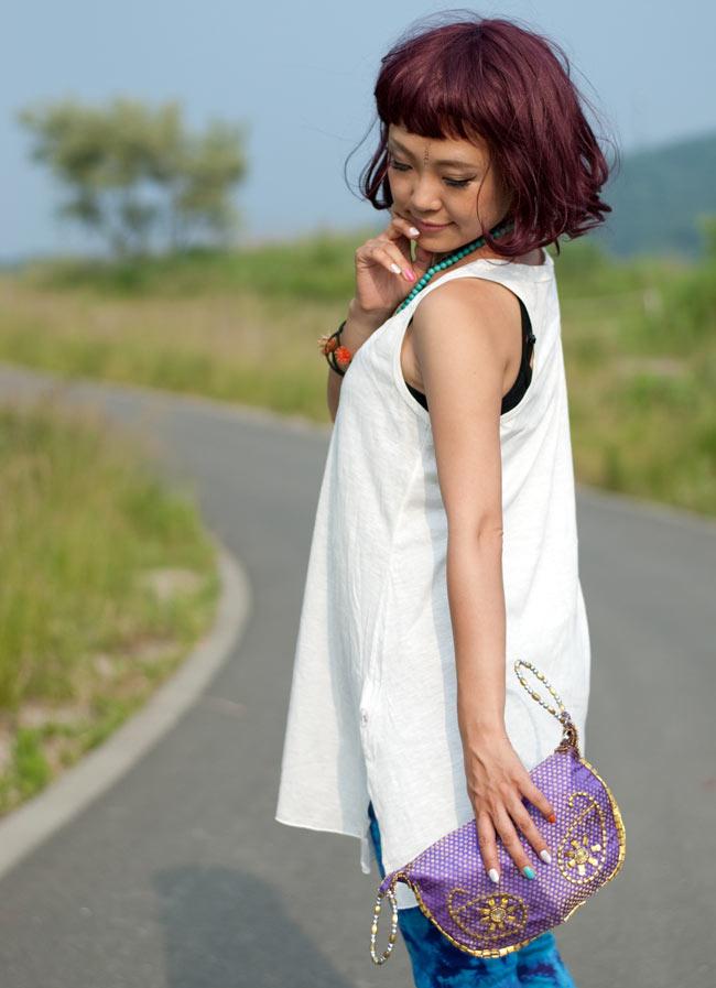 马哈拉尼市风轮 oritatami 手袋-多颜色系统,袋,袋