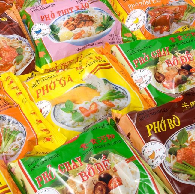 越南为方便面 (数据包) 5 件套越南餐,卧佛寺,面条,设置
