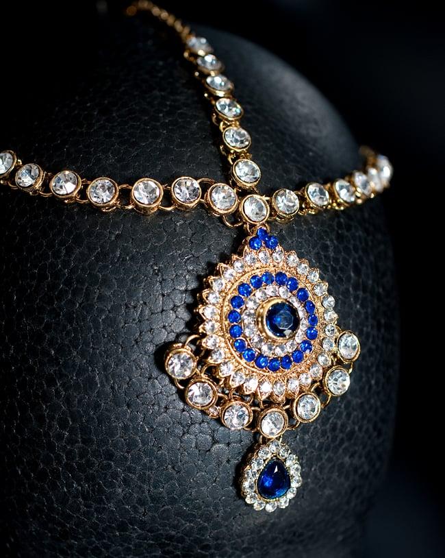 Tirakita rakuten global market gorgeous india accessories set of gorgeous india accessories set of 3 necklace earrings tikka blue wedding bridal for panjabi dress belly dance pendant ethnic asian anklet ring bindis mozeypictures Choice Image