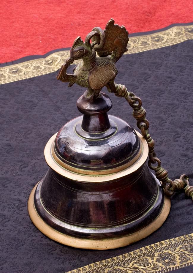 寺院の鐘 孔雀【一点もの】 / ベル 送料無料 レビューでタイカレープレゼント あす楽