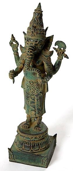 ガネーシャ(37cm) / ガネーシャ像 神様像 仏像 置物 送料無料 あす楽