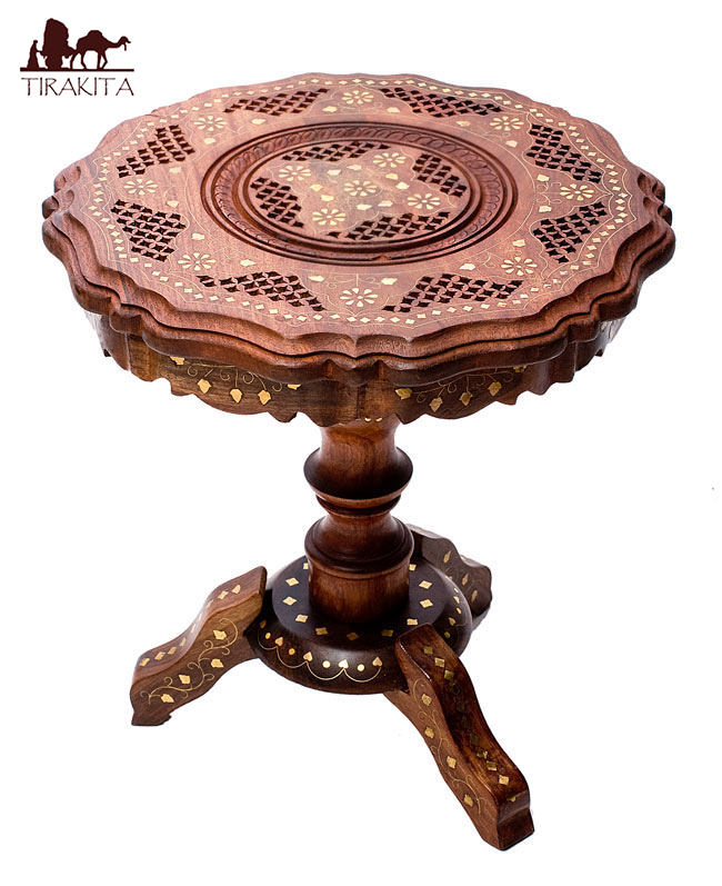 Superbe Asian Side Tables Ethnic India Goods Furniture