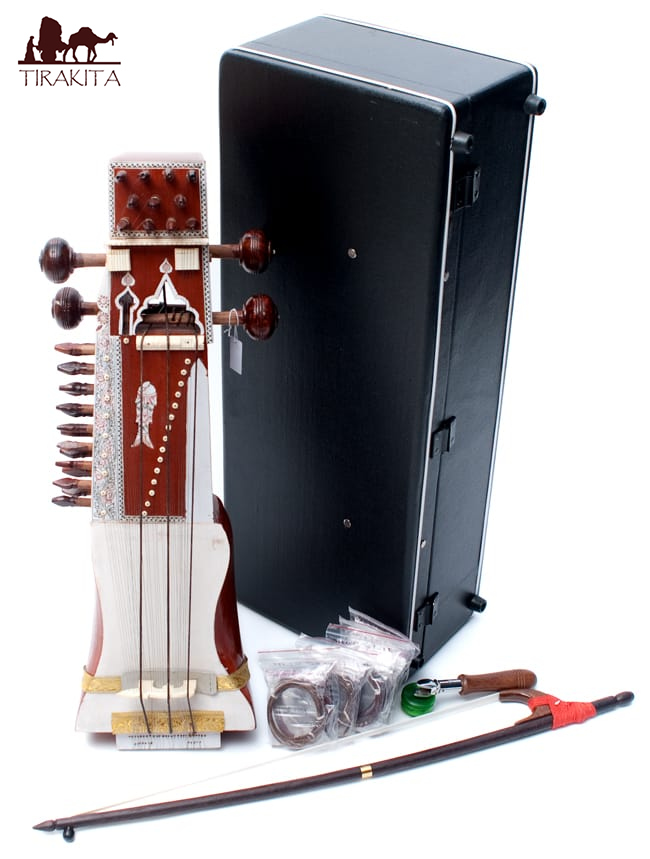サーランギ ハードケース付き / Sarangi サーランギー 擦弦楽器 送料無料 レビューでタイカレープレゼント あす楽
