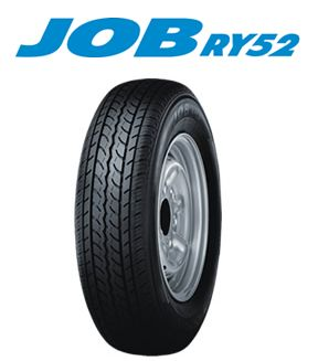 【サマータイヤ!4本セット】ヨコハマ JOB RY52 145R12 6PR 軽トラック・バス(タイヤのみ)送料無料!