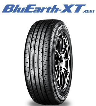 クロスオーバーSUV専用サマータイヤ SUV専用サマータイヤ 4本セット ヨコハマ Blu Earth-XT 送料無料 AE61 235 テレビで話題 タイヤのみ 55R18 100V 新商品 新型
