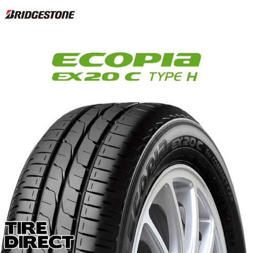 新品 ブリヂストン ECOPIA EX20 C TYPE H 165/55R15 75V BRIDGESTONE エコピア EX20C タイプH 165/55-15 ハイト系軽自動車専用 夏タイヤ ※ホイールは付属いたしません。