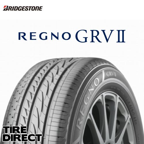 2019年製 新品 ブリヂストン REGNO GRV2 225/55R18 98VBRIDGESTONE レグノ GRV2 225/55-18 夏タイヤ ミニバン ※ホイールは付属いたしません。