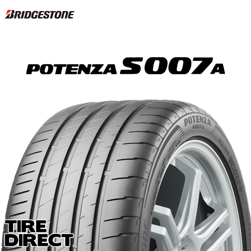新品 ブリヂストン ポテンザ S007A 265/40R18 101Y XL BRIDGESTONE POTENZA S007A 265/40-18 夏タイヤ ※ホイールは付属いたしません。