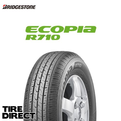 新品 ブリヂストン エコピア R710 185/80R14 97/95NBRIDGESTONE ECOPIA R710 185/80-14 97 95N夏タイヤ ※ホイールは付属いたしません。